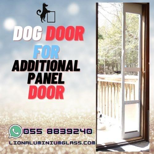 DOG Door for external panel door