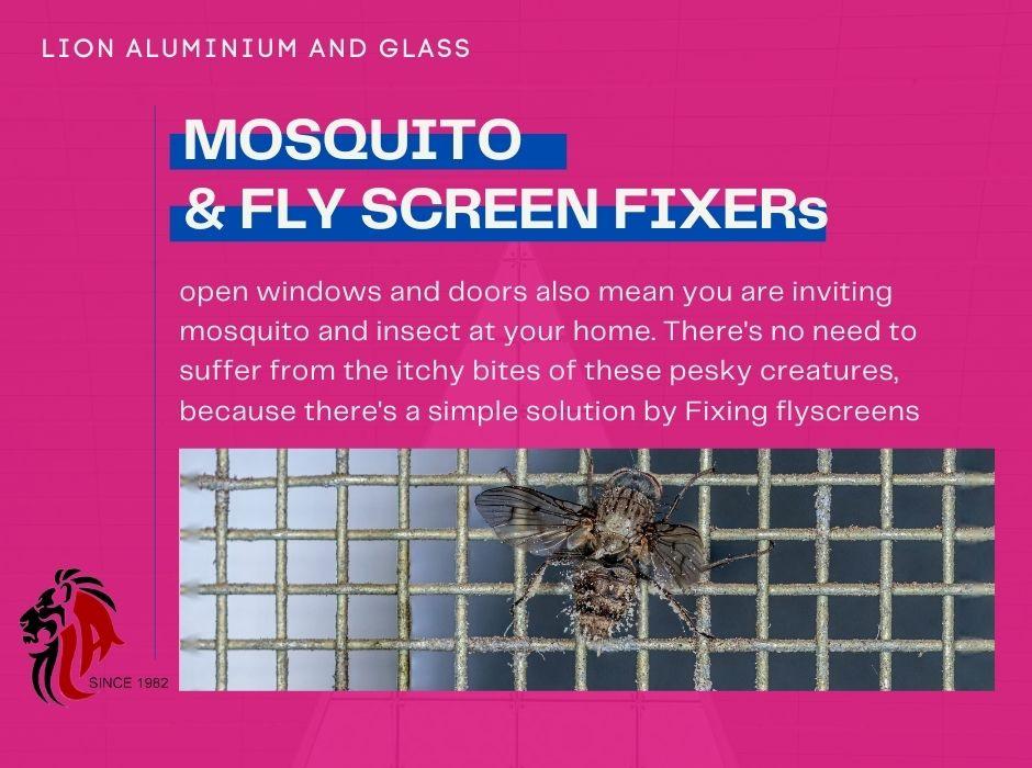fly screen repair dubai