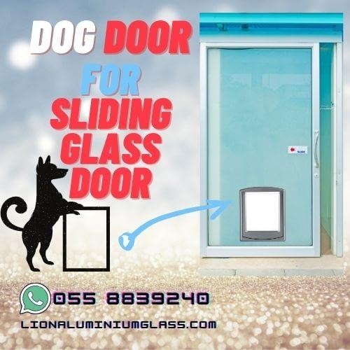 DOG Door for sliding glass door